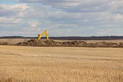 oil spill site