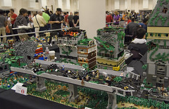 BRICKCON057 (dviddy) Tags: seattle castle washington factory lego space system convention hero lordoftherings fusion seatac bionicle spaceships thehobbit rivendell tlg alicefinch bzpower kevinhinkle pigsvscows nicvas mocsofcharacter
