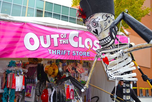 Out of the Closet Sponsors HighBall Halloween (10/29/13)