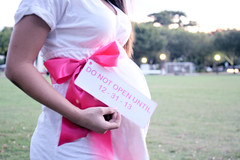 IMG_0691 (Just.Jainie) Tags: park pink bw dog pet baby white black cute love beer colors girl shower chalk kiss couple photoshoot bright mila pregnancy adorable books pitbull belly maternity bow blocks chalkboard preggo