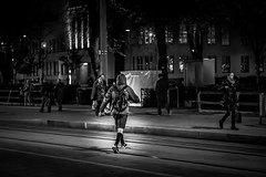 Run the City (ch.weidinger) Tags: world street camera city portrait bw white man black men night canon linz lens photography 50mm prime sterreich flickr moments foto fotografie nacht availablelight candid snapshot creative commons snap best christian explore crop snapshots mann monochrom moment unposed schwarzweiss mnner nachtaufnahme decisive 30mm schnappschuss strase schnappschsse festbrennweite weidinger 1100d streetfotographie strassenfotografie restlicht flickriver strassenfotographie