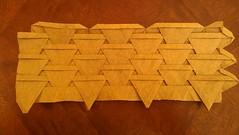 Theme and ... (Tom Crain Origami) Tags: origami tessellations origamitessellations