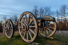 Saratoga Battlefield-4724 ( / Jiayin Ma) Tags: ny newyork field america river army war saratoga continental battle independent american cannon artillery british hudson battlefield revolutionary