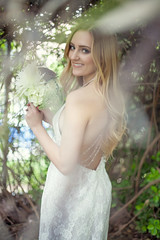 Madeline (Alyssa Herbert) Tags: wedding portrait flower girl photography pretty dress blond blonde bouquet bridal
