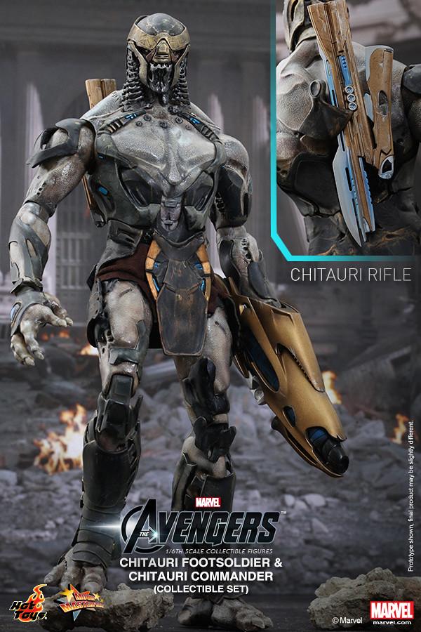Hot Toys - MMS228 - 復仇者聯盟: 1/6 比例 奇塔瑞軍團組合