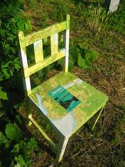 SEDIA Mexico, sedia rivestita con carta geografica