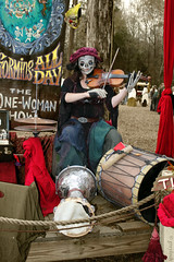 The One-Woman Show (greyloch) Tags: festival northcarolina performer renaissance crf carolinarenaissancefestival 2013