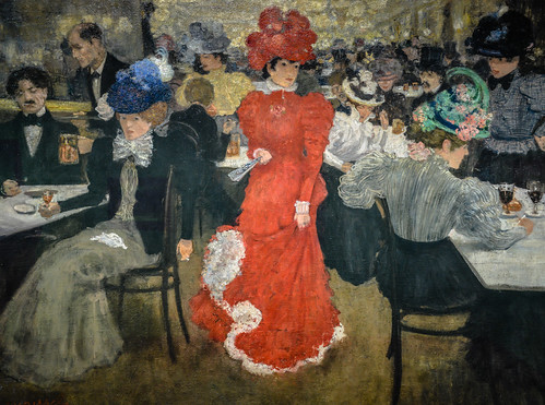Henri Evenepoel - In the Cafe d