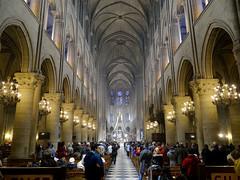 DSC07769 (yannick.loriot) Tags: paris france catholic cathedral roman gothic notredamedeparis frenchgothic 4earrondissement 4tharrondissement
