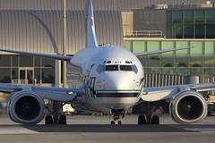 Alaska Airlines 737-700 (SANspotter) Tags: alaska taxi sna 737700 as n615as