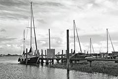 Skippool Creek (mono conversion) (james perkins.) Tags: blackandwhite lancashire filters monopod adobecameraraw riverwyre skippoolcreek canon650d photoshopelements11 tamron18270mmf3563pzdvc