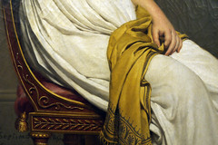 Louis David, Madame Raymond de Verninac (dt. des mains), 1798-1799  muse du Louvre, Paris,  janvier 2014 (Stphane Bily) Tags: david museum painting louvre muse peinture collection musedulouvre directoire louisdavid verninac madameraymonddeverninac stphanebily carlosdebeistegui