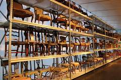 Röhsska museet - Abteilung Stühle