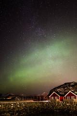 _P0G4070.jpg (dave.cromack) Tags: red sea green stars islands lofoten auroraborealis milkyway mortsund lofotenisland