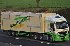 Williams Transport Iveco Stralis Hi-Way BV63 MME (truck_photos) Tags: