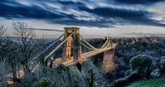 Clifton Suspension Bridge (Trigger1980) Tags: bridge bristol suspension clifton impressedbeauty mygearandme {vision}:{mountain}=0794 {vision}:{outdoor}=096 {vision}:{sky}=0904 {vision}:{clouds}=064