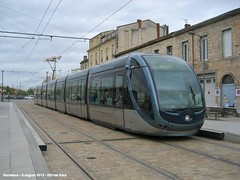 Bassins a Flot (ernstkers) Tags: trolley bordeaux tram lightrail streetcar tranvia elctrico tramvia citadis strasenbahn
