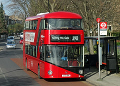 TfL LTZ 1104 - Hilldrop Road, London (Neil Pulling) Tags: uk england bus london transport publictransport londonbus tfl transportforlondon wrightbus newroutemaster tflbus lt104 borismaster borisbus ltz1104