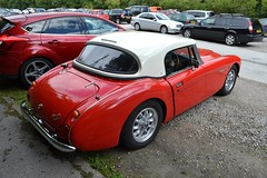 2004 Sebring SX Austin Healey Replica – PJI 27 (Paul D Cheetham) Tags: show classic ford 2004 museum austin october day village derbyshire engine september mg replica 10th 28 register petrol sebring straight carpark 9th 13 six 27 tramway derby healey litre sx crich straightsix 2013 pji pji27 2798cc