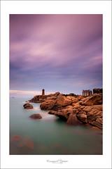 Ploumanac'h (Emmanuel DEPARIS) Tags: ocean mer rose bretagne cote phare nord semaphore granit darmor