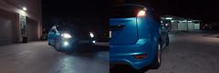 You can't hear the growl (bigillu) Tags: uk blue ford lamp car sport night speed focus malta 25 dashboard titanium 2008 speedometer rs zetec fordfocus