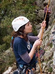 Escalando en San Fausto