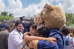 Spring Commencement 2014 (fiu) Tags: statue century us spring bank arena commencement em panther 2014 roary