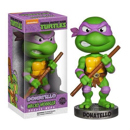 FUNKO WACKY WOBBLER 系列【忍者龜】Teenage Mutant Ninja Turtles