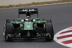 T05 Spain - day one (CaterhamF1) Tags: barcelona test team spain action f1 testing formulaone formula1 caterham kobayashi 2014 ct05 kamui t05 caterhamf1team kamuikobaysahi t05spain