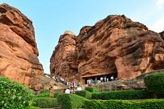 India - Karnataka - Badami Caves - 007 (asienman) Tags: india architecture caves karnataka badami chalukyas vatapi asienmanphotography