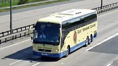 39 EYD Newport 03-05-14 (panmanstan) Tags: bus volvo coach yorkshire transport newport vehicle passenger m62 eastyorkshire a63