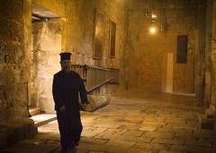 The priest (Maron) Tags: old shadow yellow walking israel jerusalem marion priest vhurch supermarion nesje