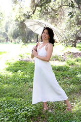 1.31.15 6 (Marcie Gonzalez) Tags: california park lighting county ca wedding light portrait orange woman usa white green nature grass female america forest umbrella garden happy photography us model women soft photographer natural united north models parks calif southern socal cal photograph parasol ethereal session states weddings gonzalez elegant delicate offwhite simple marcie elegance so