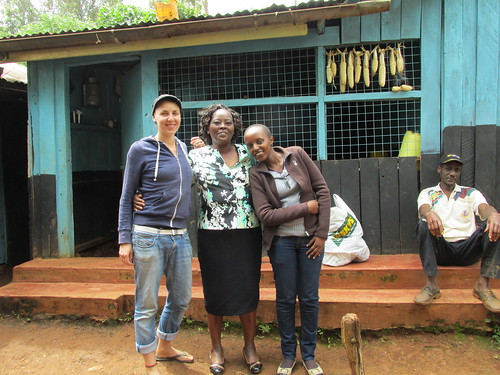 Avec la famille au village, Kenya
