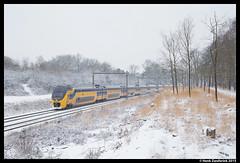 NS 8638 + 9585, Holten 24-1-2015 (Henk Zwoferink) Tags: ns plan v henk spoorwegen holten nsr holterberg nederlandse virm mat64 zwoferink