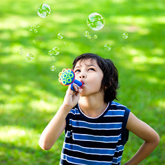 Little boy making soap bubbles (Patrick Foto ;)) Tags: park boy summer portrait people baby playing cute green nature beautiful face grass childhood closeup kids asian fun outdoors happy person one kid soap child little background joy young meadow happiness bubbles blowing blow arabic bubble concept copyspace lovely playful