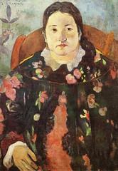 Portrait de Suzanne Bambridge (P Gauguin)