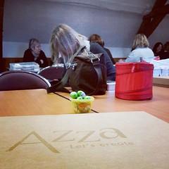 Journe Anima ... des nouveauts et du scrap en prvision! (bookandscrap) Tags: square squareformat hudson azza iphoneography instagramapp uploaded:by=instagram