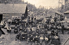 Coal miners at Antracite - 1902