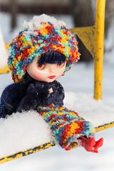 Curly Blue Babe (CBB) (margonyes) Tags: blue doll babe curly translucent takara cbb blytne curlybluebabe
