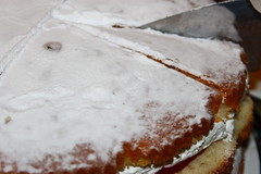Victoria Sponge Cake (WorldClick) Tags: life light party cakes cake canon recipe dessert photography eos golden photo milk yummy mix soft flickr colours photographer yum tea sweet traditional egg perspective cream vivid tasty victoria sugar desserts cupcake photograph butter delight slice icing treat capture flour jam sponge filling creamy delights phototgraphy 1100d victoriaspongecake canoneos1100d worldclick