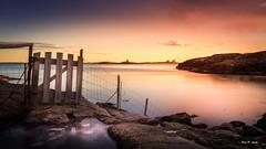 Homborsund - sunset (Karl P. Laulo) Tags: fyr solnedgang homborsund
