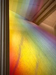 Dawe's rainbow threads (kimbar/Thanks for 2.5 million views!) Tags: art colors wonder washingtondc installation column threads renwickgallery gabrieldawe