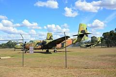 DSC_0914 (LoxPix2) Tags: clouds vintage landscape airport aircraft australia queensland nomad caribou oakey loxpix australianarmyflyingmuseum
