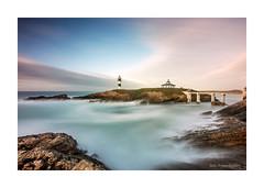 Faro de Illa Pancha (.... belargcastel ....) Tags: espaa seascape marina spain galicia lugo ribadeo farodeillapancha belargcastel belnargeso