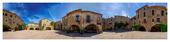 Monells 360 (Olivier Faugeras) Tags: panorama spain pentax catalunya espagne 360 catalogne monells
