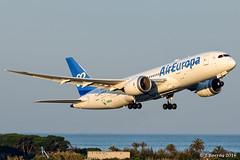 Air Europa Boeing 787 Dreamliner EC-MIG (j.borras) Tags: airplane spotting barcelona bcn lebl departing takeoff rwy25l runway boeing air europa aea 787 dreamliner ecmig