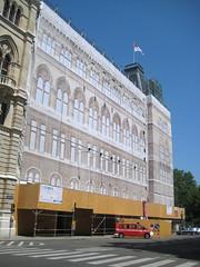 Wiener Rathaus (Vienna City Hall) (Wiebke) Tags: vienna wien sterreich austria europe architecture architektur rathaus viennacityhall cityhall wienerrathaus neogothic neogothicarchitecture historicpreservation
