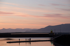 um mintur bil (alf07 ,) Tags: silhouette harbour reykjavk esjan viti hfnin reykjavkharbour jn2016