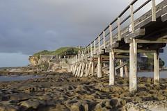 Bare Island Bridge (Tony Hugo) Tags: longexposure bridge storm clouds canon rocks waves au australia newsouthwales laperouse bareisland canon6d canoneos6d